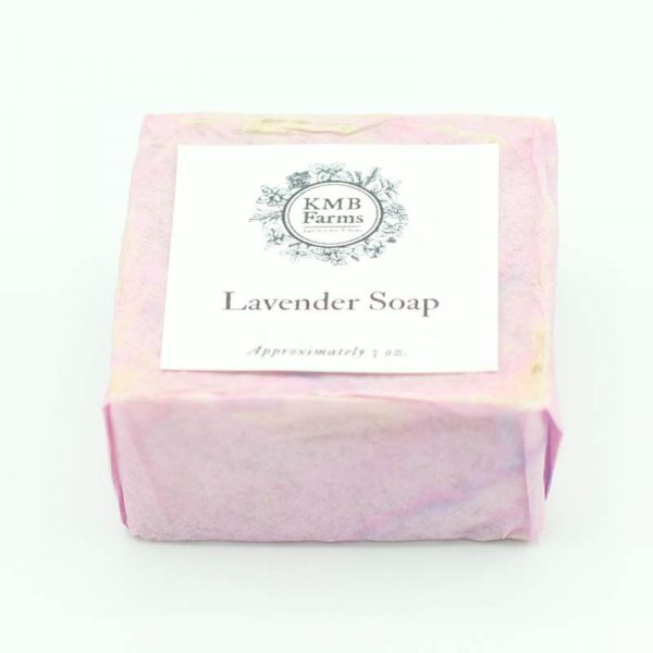 KMB Farms--Lavender Soap Packaging