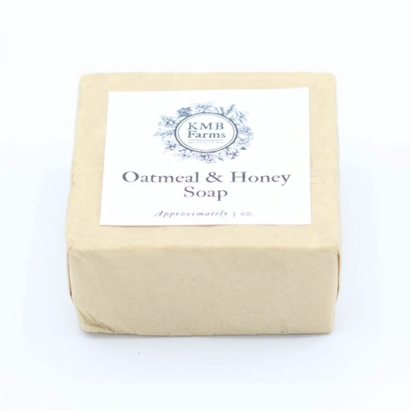 KMB Farms--Oatmeal & Honey Soap Packaging